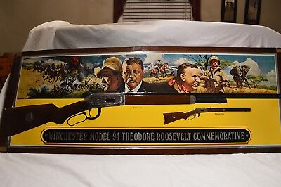 "winchester model 94 ""theodore roosevelt"" commemorative store display"