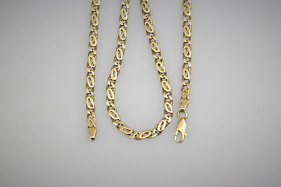 Unisex 18ct Yellow Gold Necklace Solid Gold 18K 750 28.3g
