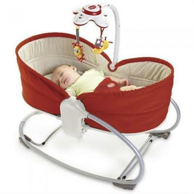 Tiny Love 3 in 1 Baby Rocker Bouncer Napper Red