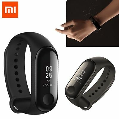 2018 Xiaomi Mi Band 3 OLED Fitness Tracker Pulsmesser Smart Armband Touch Screen