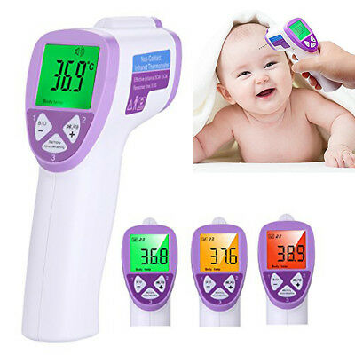 Baby Kid Adult Safe Digital Body Temperature Non-contact IR Infrared Thermometer