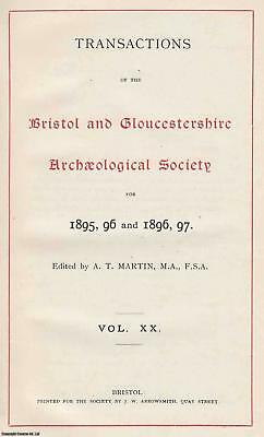 Clock and Watch Makers of The 18th Century in Gloucestershire and Bristol. An or