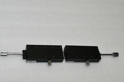 Lot of 2, MIZUMI DOVETAIL LINEAR STAGE POSITIONER XSLC90, 90mm x 40mm x 18mm(H)