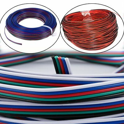 18/20/22/24/26AWG 2/4/5 pin Cable wire for Led strip Light RGB RGBW Single Color