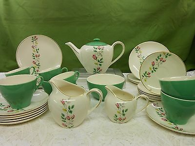 Vintage J&G Meakin  Tea Set & Part Coffee Set Regd Sol 391413 (29 Pieces)