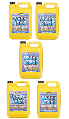 Everbuild 402 Waterseal 25 Ltr Water Seal Repellent Transparent Brick Concrete