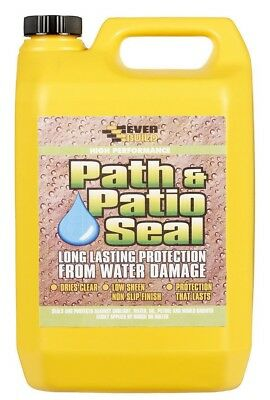 Everbuild 405 Path & Patio Seal 5L Block Paving 5 Litre Water Seal Sealer