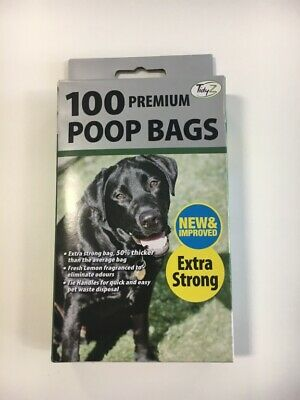 Dog Poop Waste Bags Premium Extra Thick Frangranced Poo Pick Qty