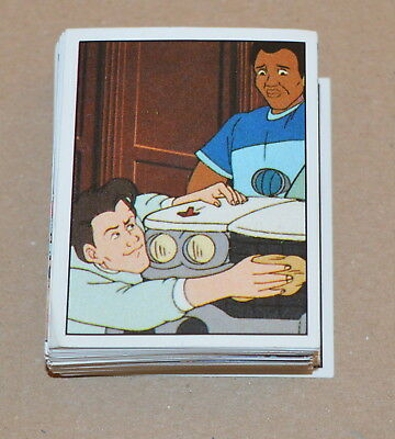 1988 PANINI The Real Ghostbusters CHOOSE ANY 5 Stickers From the list