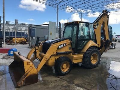 2008 CAT 450E Backhoe Loader 4x4 Cab Ext Hoe Caterpillar Ready to Work