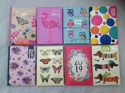 Tallon 2019 Pocket Week To View  Diary Choose From 8  Gorgeous Designs