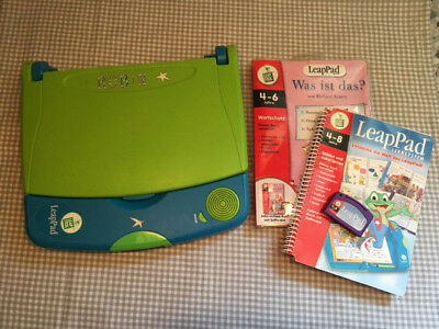 LeapPad Leap Pad LeapFrog incl. 2 Spielen super Zustand