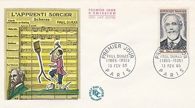 France 1965 Fdc Paul Dukas Yt 1444