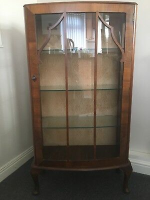 antigue display cabinet