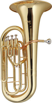 Stagg 77-EU Bb- Euphonium mit Perinet Ventile im ABS-Koffer