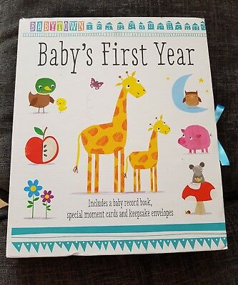 Babys first year book