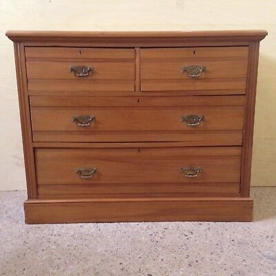 vintage antique pine chest of drawers