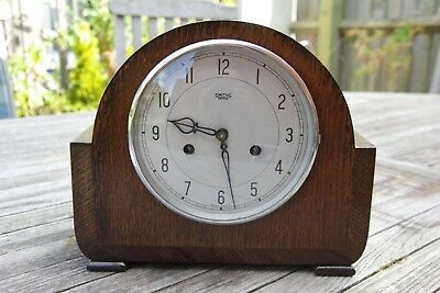 Smiths Enfield  Mantle Clock with key. ***Restored***