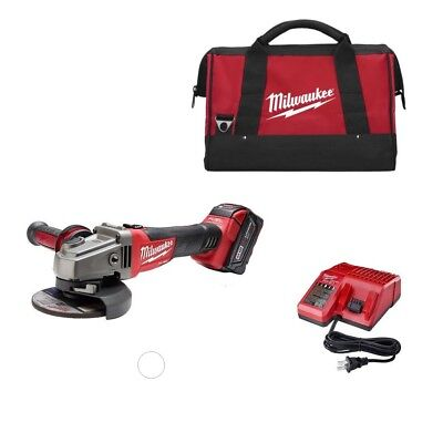 "Milwaukee 2781-21 M18 18V 4-1/2"" - 5"" Grinder with Lock-On KIT New"