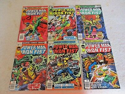 Power Man & Iron Fist  #51  Thru #125 Complete Run Lot Of 75  Books
