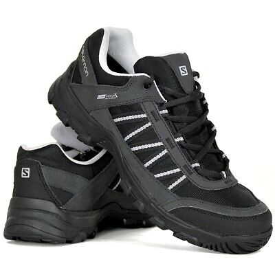 on sale b6c6f 297d2 SALOMON KEYSTONE CS WP Herren Wanderschuh Outdoor Schuh Shoe WASSERDICHT  schwarz