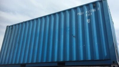 20ft X 8ft Shipping Container One Trip Used Workshop Or Office Ready