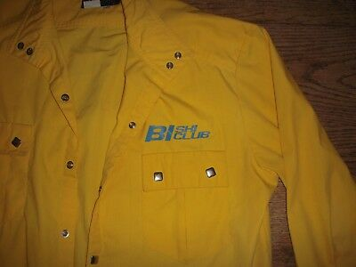"Vintage BRANIFF INTERNATIONAL ""SKI CLUB"" X-Large Shirt/Jacket !!!!(NICE)!!!!!!"