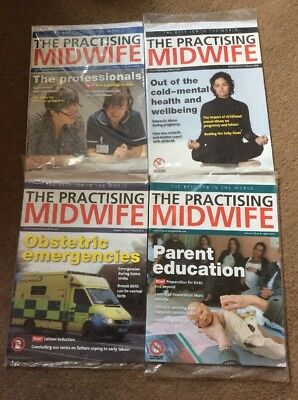 'The Practising Midwife'. Magazine. Midwife. Student Midwife.