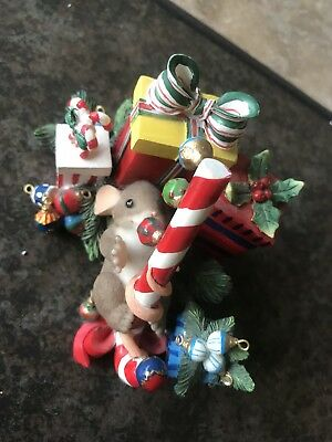 May Your Holiday Be Filled With Hidden Charms Charming Tails Mouse/Collectibles