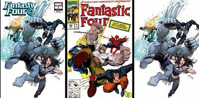 Fantastic Four #1 NM+ Greg Land CK Elite Variant Set PLUS Ebic Cover, PREORDER