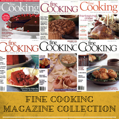 Fine Cooking Magazine Collection - 113 Issues Food Recipe How To Tutorial on DVD