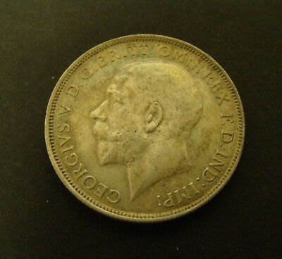 1918 GREAT BRITAIN 1 FLORIN  SILVER  Foreign Coin  #2