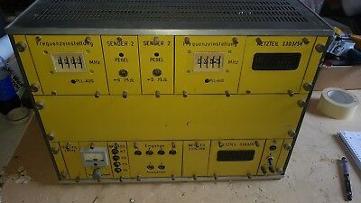 GB1110) DDR SENDER Antennenwerke Bad Blankenburg