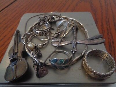 Sterling Silver Scrap or Not Lot of Beautiful Jewelry Pieces with Silpada!!!