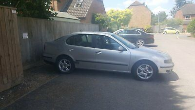 Seat toledo v5 2.3 2002 silver met very good for year