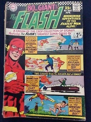 The Flash #160 Giant issue