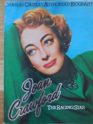 JOAN CRAWFORD***** THE RAGING STAR by CHARLES CASTLE (Hardcover 1977)