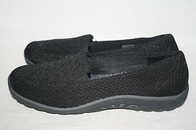 half price exclusive range boy WOMENS SKECHERS RELAXED Fit Air-Cooled Memory Foam Black ...