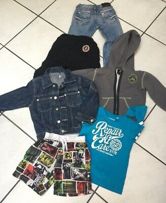 Lot Garcon 4 Ans  Sweetpants Japan Rags Quiksilver Longboard Etc
