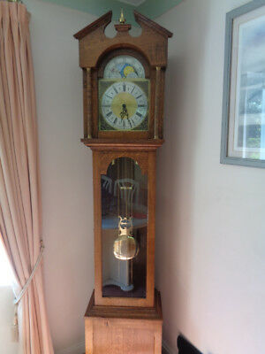 Grandfather Clock, fully working, no longer suited to moving to a smaller place