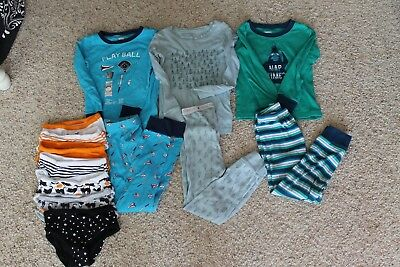LOT of 10 Toddler Boy's Pajamas Underwear Size 5T
