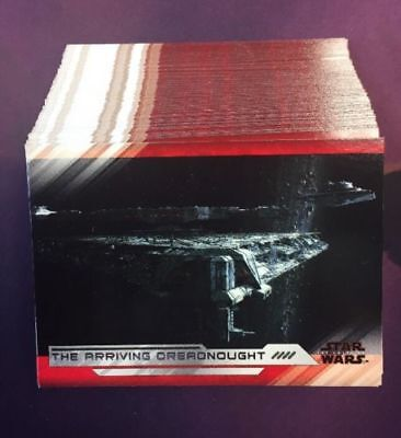 2018 Topps Star Wars Last Jedi Series 2 Complete  1-100 Card Set + Extras
