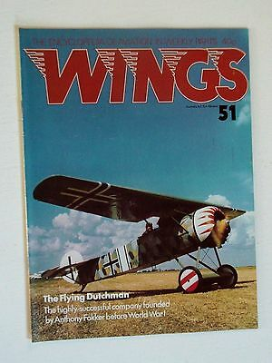 WINGS No.51-ENTIRE MAGAZINE DEVOTED TO FOKKER AIRCRAFT
