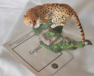 1989 The Franklin Mint Great Cats of the World Gepard