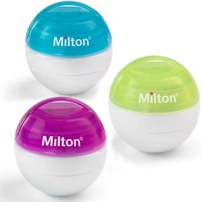 Milton Soother Steriliser Baby/Toddler Portable Travel Hygiene Tablets BNIP