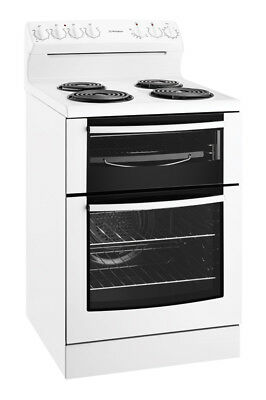 Westinghouse 60cm Freestanding Electric Cooker - WLE625WA