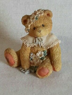 "Collectible Cherished Teddies Birthday Bear May #914797 ""Friendship Is In Bloom"""