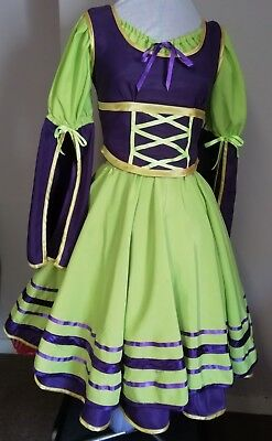 Country villager dancer costume. Headdress. Very good quality & condition.