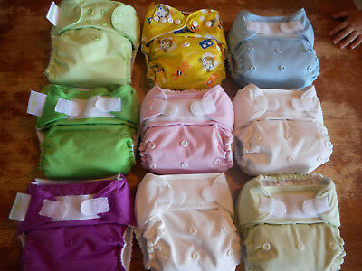 Bumgenius Pocket Cloth Diapers LOT Rumparooz Kawaii