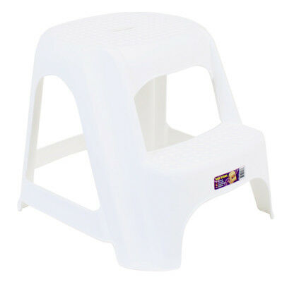Vee Bee Step Up Stool White